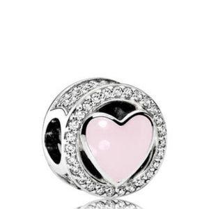 Jewelry - Pandora Wonderful Love Charm, 792034cz